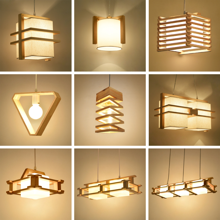 Online buy wholesale wood pendant lamp from china wood pendant lamp wholesalers - Lamparas colgantes minimalistas ...