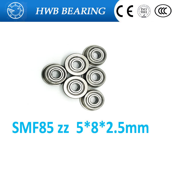 Free Shipping 10 PCS SMF85ZZ Flanged Bearings 5x8x2.5 mm Stainless Steel Flange Ball Bearings DDLF-850ZZ SMF85 ZZ смеситель vidima uno ba240aa