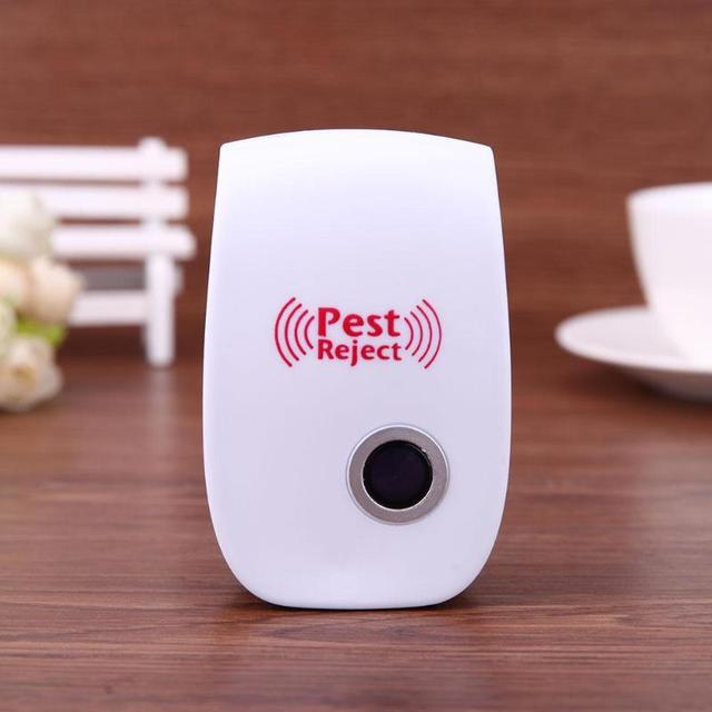 Electronic Pest Repeller Ultrasonic Rejector Mouse Mosquito Rat Mouse Repellent Anti Mosquito Repeller Killer Rode EU/US Plug