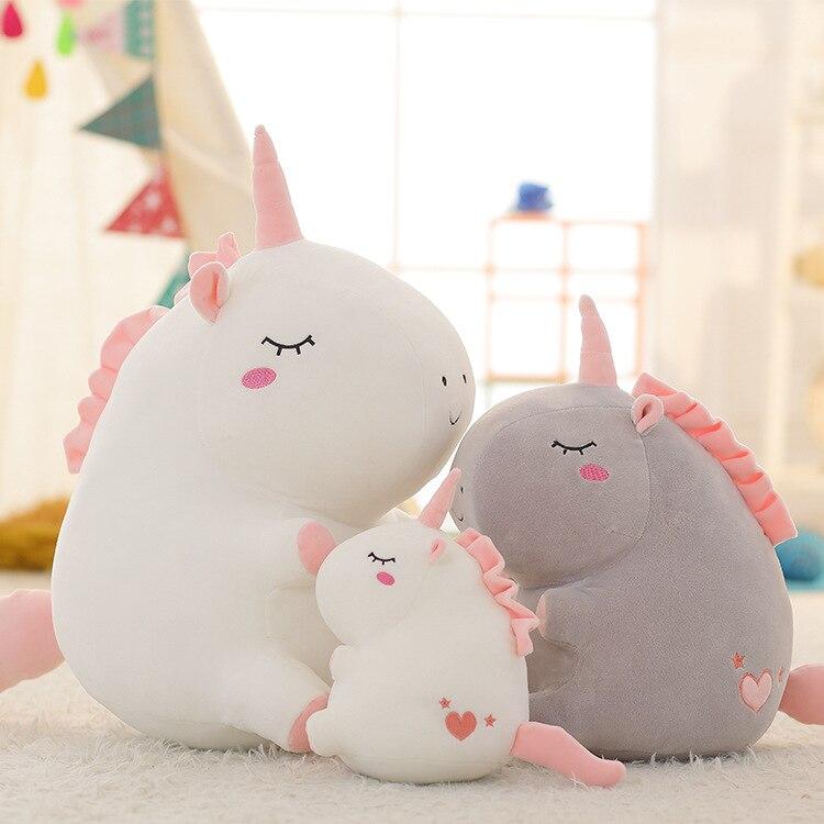 Cute Unicorn Plush Dolls Toy Unicorn Plush Toys Soft Animal Dolls Chirstmas Kid Gift Birthday Present High Quality