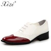XIZI 브랜드 비즈니스 드레스 남성 정장 남성 웨딩 뾰족한 발가락 패션 마이크로 화이버