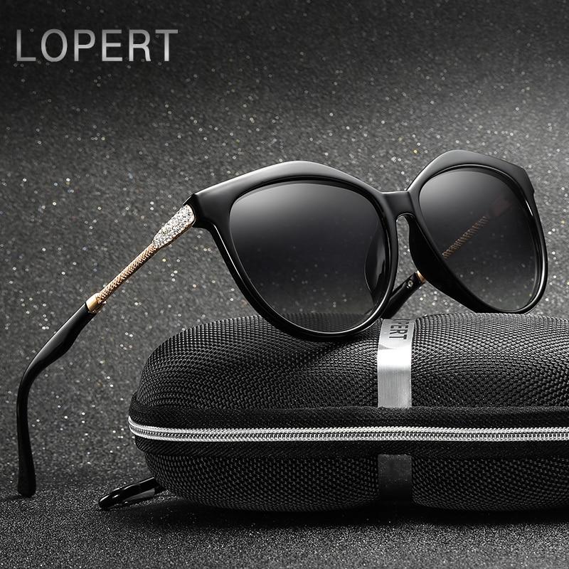 LOPERT Marca Estrella Estilo de Lujo Gafas de Sol Polartizadas - Accesorios para la ropa