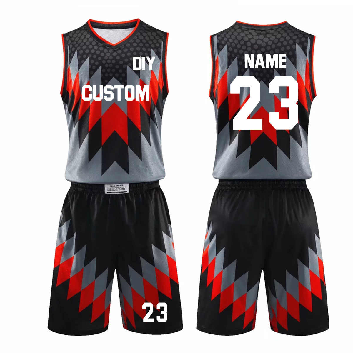New Men Throwback Basketball Training Jersey Set Blank College Tracksuits Breathable Basketball Jerseys Uniforms Suit Customized