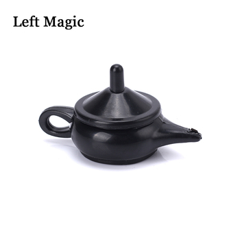 1pcs Wonderful Legend Aladdin Magic Genie Light magic trick professional magician coin thru lamp magic coin props easy to do image