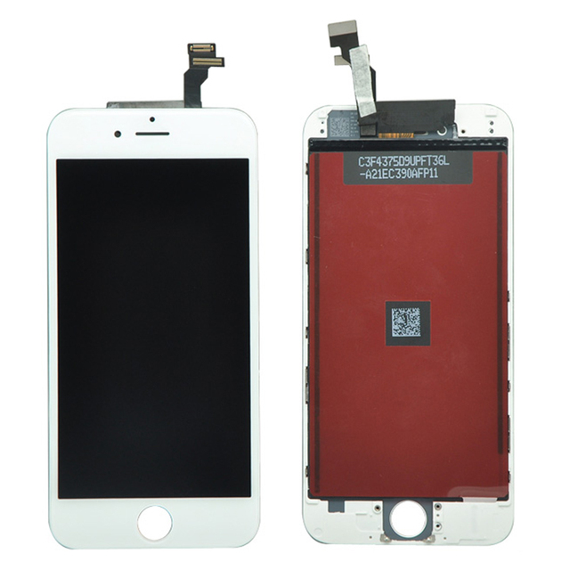 "AAA Quality No Dead Pixel For iPhone 6 LCD Display Touch Screen With Digitizer Assembly 4.7"" Black&White +Tools free shipping"
