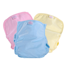 Waterproof Baby Nappy cotton baby nappies pants Adjustable Infant nappy cloth diaper Reusable Disposable Nappies Swim Pool Pant