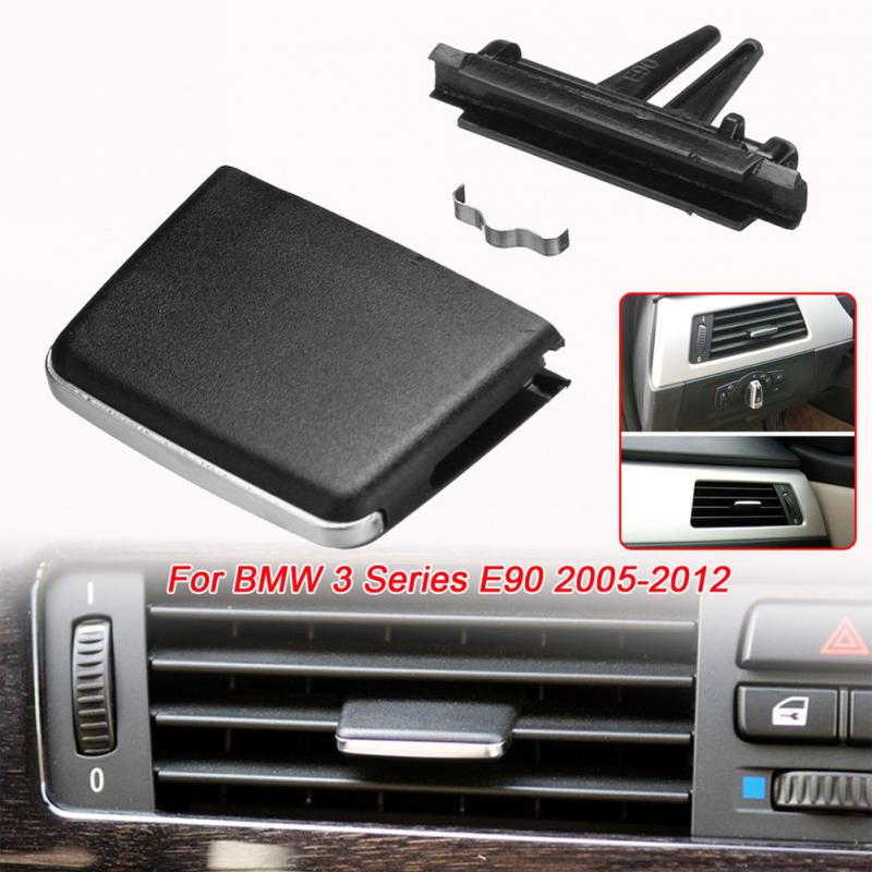 Plastic Car Rear Center Console Flow In Fresh Air Outlet Vent Grille Cover Air Conditioner Vent Protective For BMW 3 Series E90 a style new car black center console rear ac air conditioning outlet vent for vw touran caddy 2003 2015 1t0 819 203 a 1td819203a