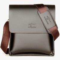 e915e9ba728 Kangaroo Luxury Brand Leather Men Bag Casual Business Messenger Bag For  Vintage Men S Crossbody Bag