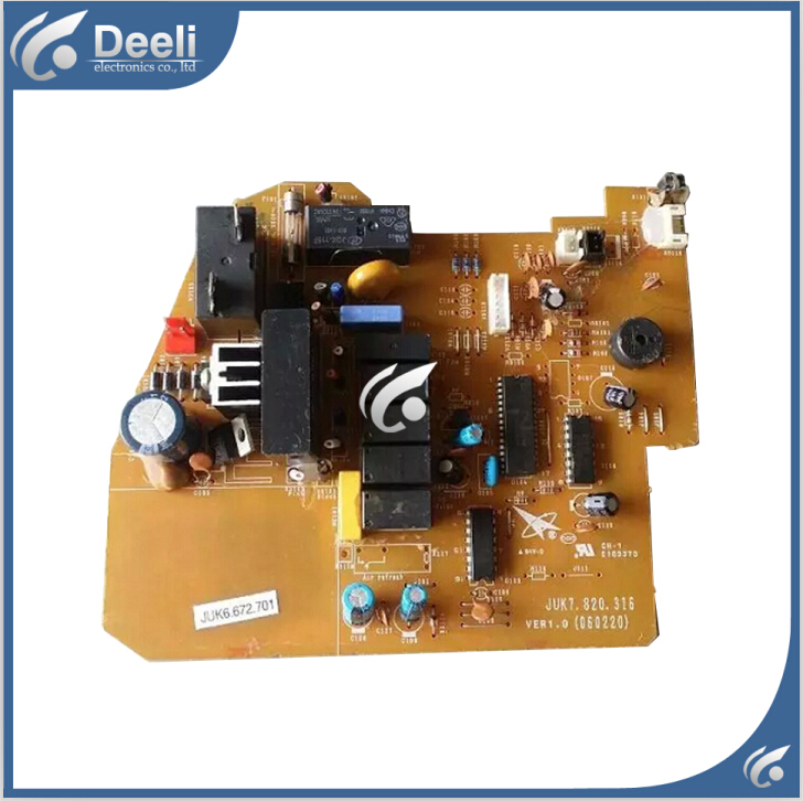 95% new good working for air conditioning motherboard Computer board JUK6.672.701 JUK7.820.316 board good working