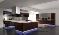 Acrylic high gloss/lacquer Kitchen cabinet(LH HA010)