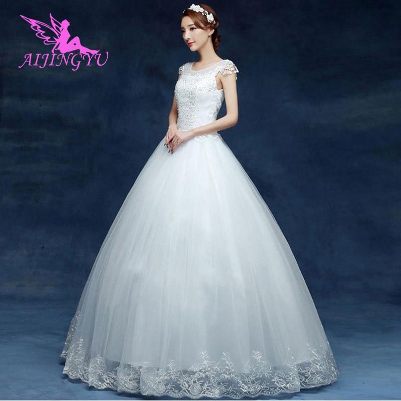 AIJINGYU luxury wedding weeding dress formal dresses WU175
