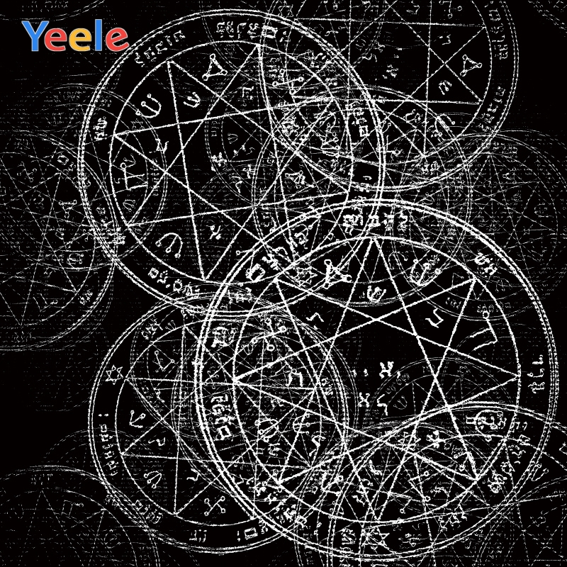 Yeele Wallpaper Backdrop Astral Compass Mystery Code Photography Backdrop Personalized Photographic Backgrounds For Photo Studio Background Aliexpress
