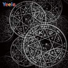 Yeele Wallpaper Backdrop Astral Compass Mystery Code Photography Personalized Photographic Backgrounds For Photo Studio