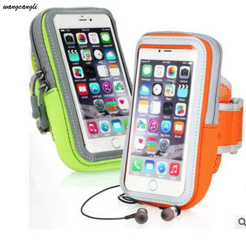 Sports bag in the form of a wristband for practicing jogging, case, arm wristband for running, universal waterproof sports phone armband for iphone 6