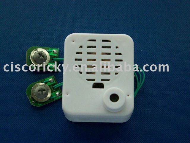 20 secs message and voice recordable module chip for greeting card