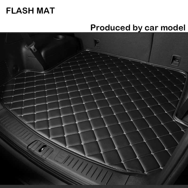 Car trunk mat for renault all models renault logan renault kadjar laguna 3 fluence scenic sander Car accessories