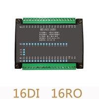 2 개/몫 16DI/16RO 16 도로 디지털 절연 입력 16 도로 릴레이 출력 모듈 데이터 수집 제어 보드 RS485 모드 버스