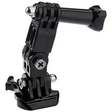 Novo design 3 Way Pivot Arm Mount Conjunto para GoPro Hero4 Hero 3 + 4 2 Sessão