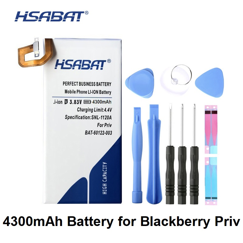 HSABAT 4300mAh BAT-60122-003 Battery For BlackBerry Priv
