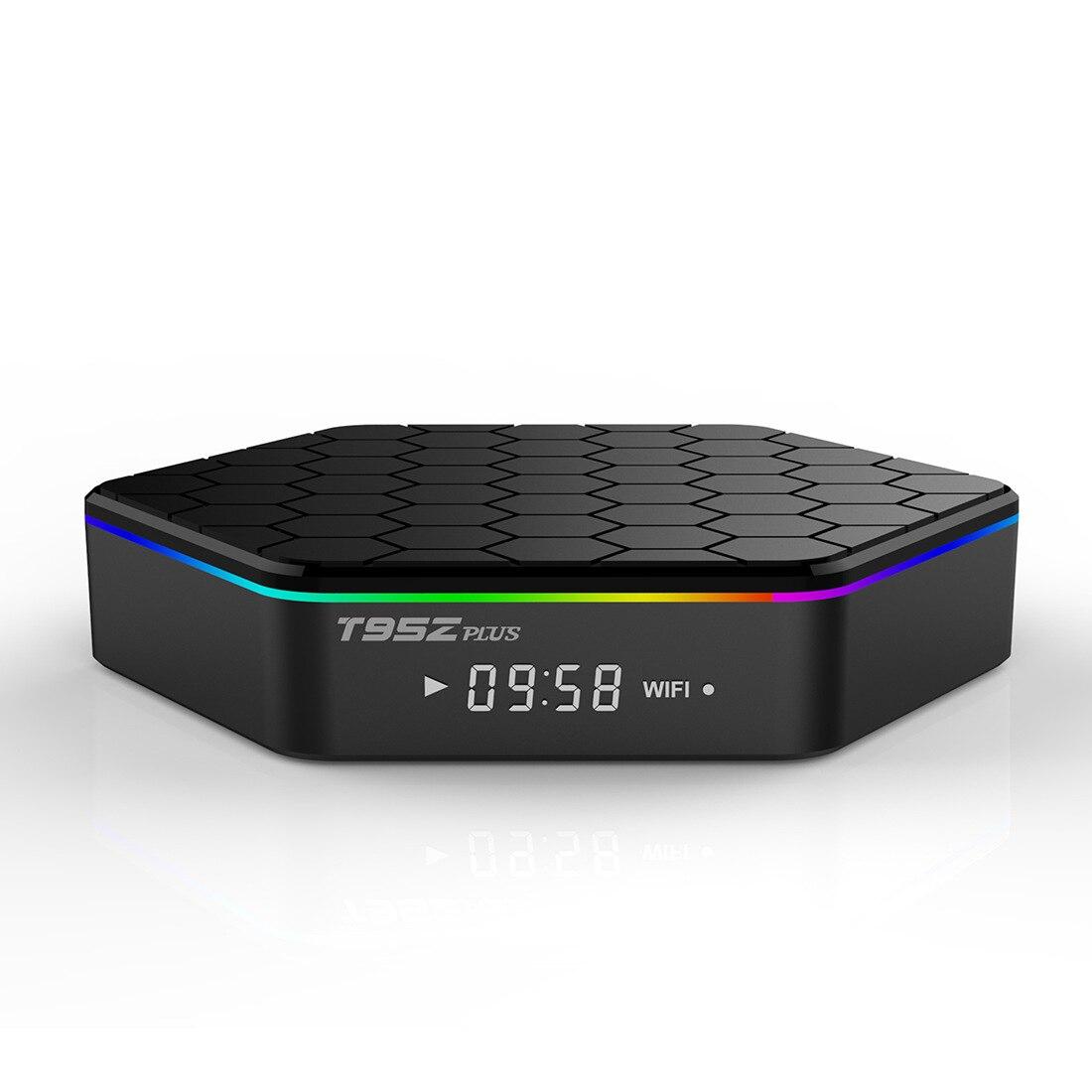 Original T95Z Plus Smart TV BOX 2GB/16GB 3GB/32GB Amlogic S912 Octa Core Android 7.1 2.4G/5GHz WiFi BT4.0 4K Set Top Box 10pcs vontar x92 3gb 32gb android 7 1 smart tv box amlogic s912 octa core cpu 2 4g 5g 4k h 265 set top box smart tv box