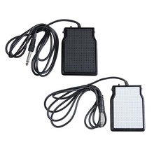 Universal Sustain Pedal Foot Switch Keyboard SP20 Sustain Pedal for All Piano Electronic Keyboards Black