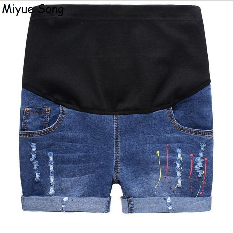 Short Maternity Jeans Promotion-Shop for Promotional Short ...
