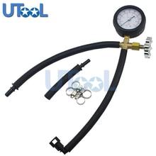 Utool быстрый, связанных топливный насос Давление тестер калибровочных с Клапан 0 ~ 100psi