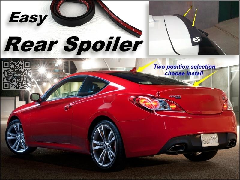 Root/Spoiler Traseiro Para Hyundai Genesis Coupe 2008 ~ 2015 Tronco  Splitter/Ducatail Defletor