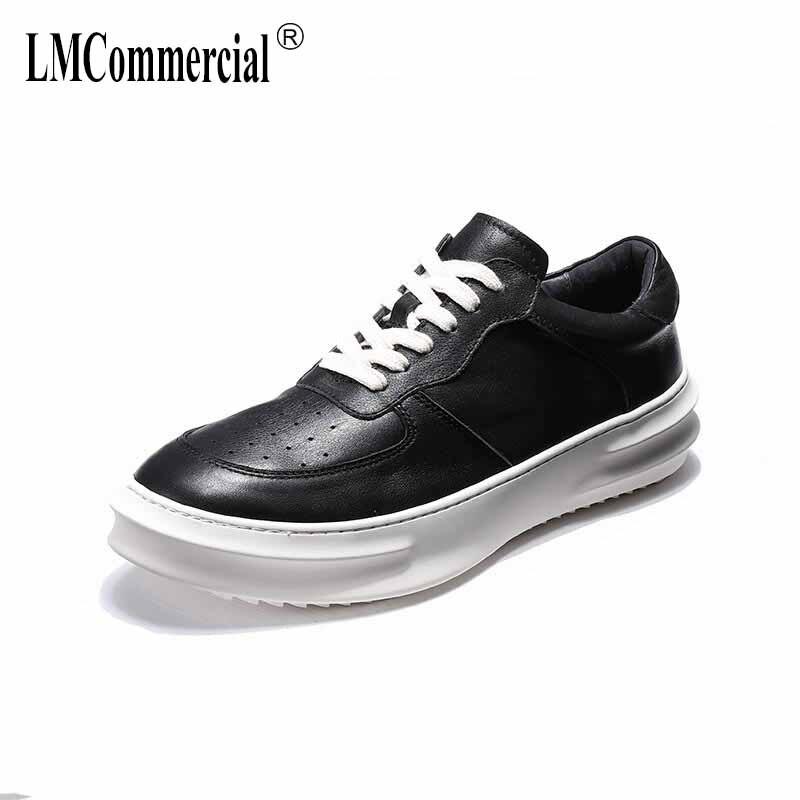 Zapatos Zurriago Los 2018 Todo Transpirable Ocio Masculino Hombres De Moda  Cuero Del Casual Negro fósforo Zapatillas ... f60f1db6864c