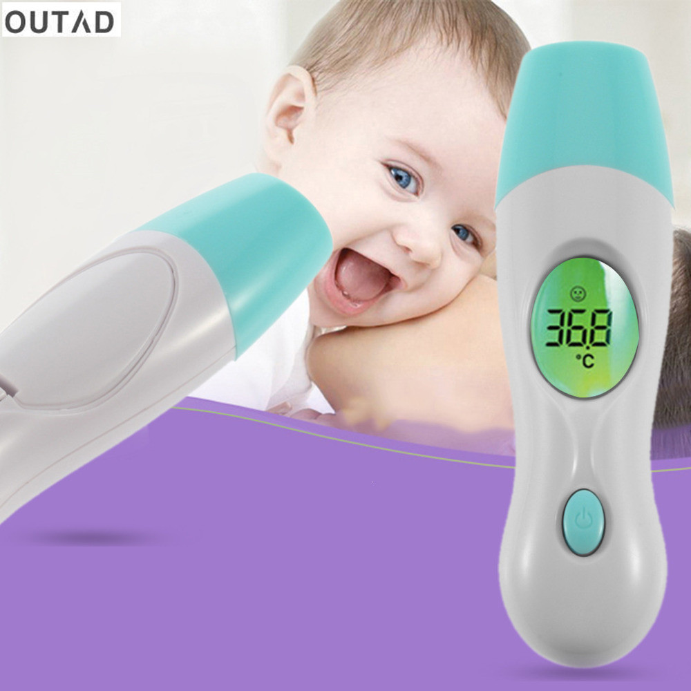 OUTAD Multifunction Baby Digital Termometer 4 in 1 Adult Children Digital Body Forehead Ear baby Infrared Thermometer Hot Sale