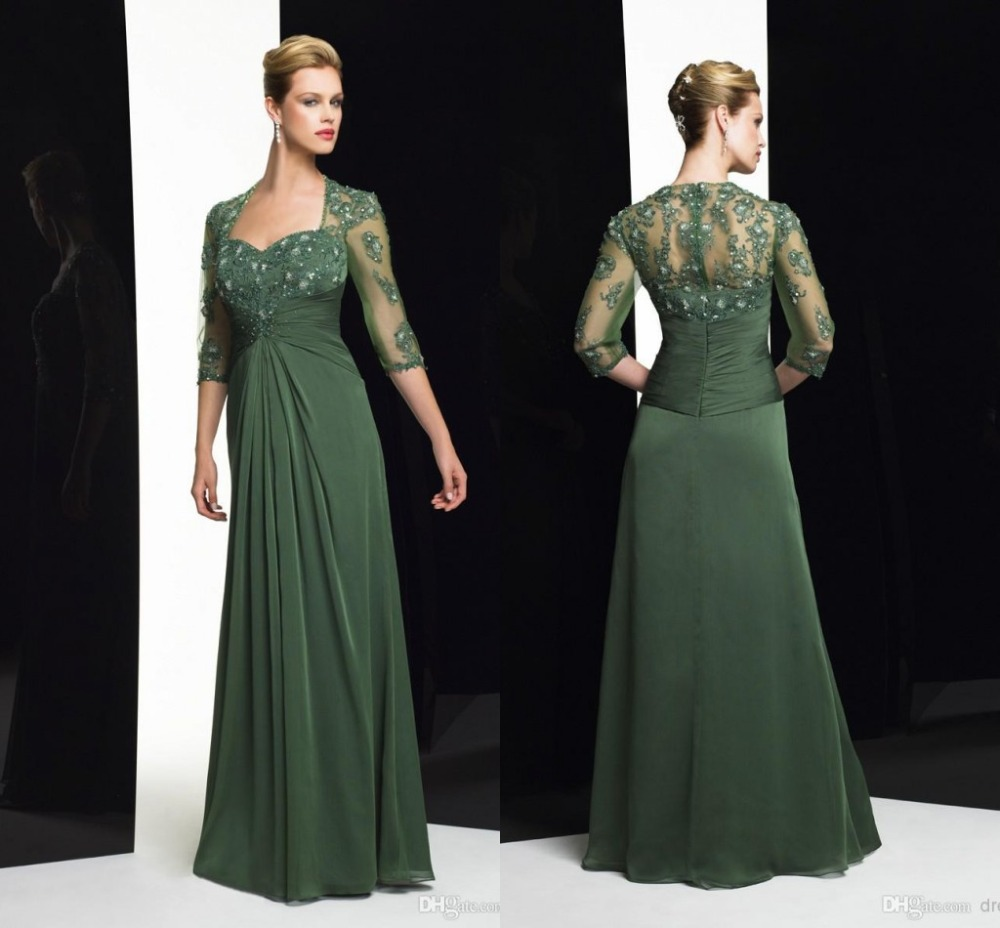 Mother Of The Groom Dress: 2015 Elegant Chiffon Sweetheart Brides Mother Of The Bride