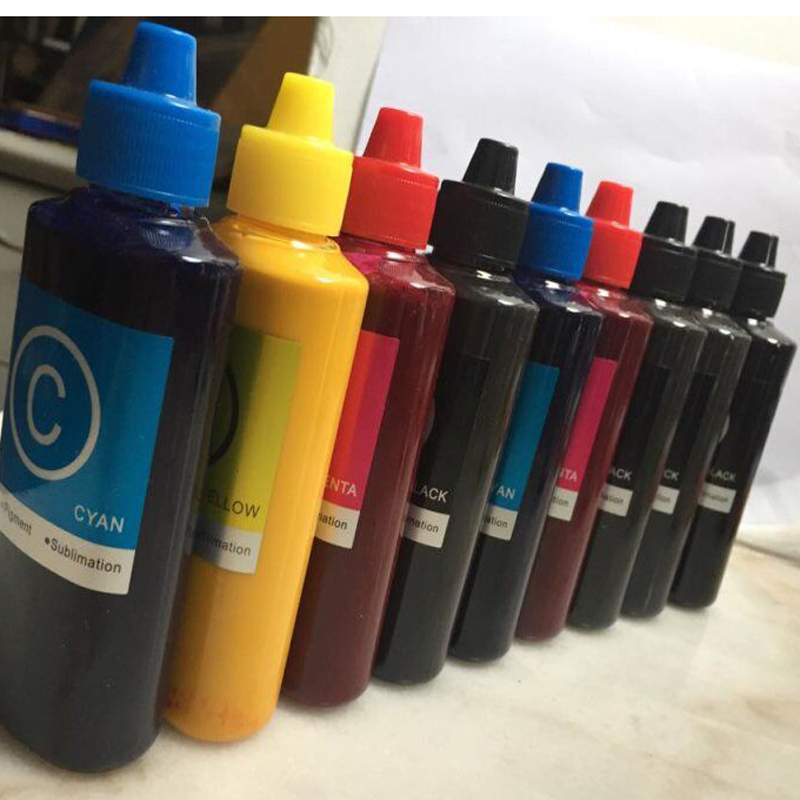 100ML/Bottle T8501-T8509 Universal Pigment Ink For Epson SureColor P600 P800 Stylus Pro 3800 3880 Printer Refill Pigment Ink 10pcs for epson dx5 uv printer ink damper for epson stylus proll 4000 4800 7400 7800 9800 9400 9450 flat printer uv ink damper