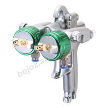 Pulvérisateur à pression pneumatique Double tête 1.3mm pour peinture chromée