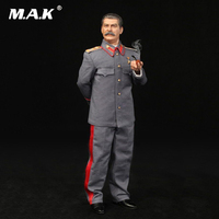 For Collection 1/6 Full Set Action Figure WWII Soviet Joseph Jughashvili Stalin (1878 1953) Figure Model for Fans Holiday Gift