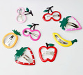 2 pieces Fruit hairpin Baby simple Barrettes Infant Decoration Girl Hair Accessory kids hair clip accessories