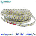 24V IP65 Waterproof LED Strip light  5050 5m 300leds Lighting white/warm white / blue / red / green /RGB led strip