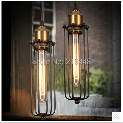 цены на Designer Lighting Retro Style LOFT Industrial Warehouse Pendant Light Home Bar Study Room European Gladiator Pendant Light