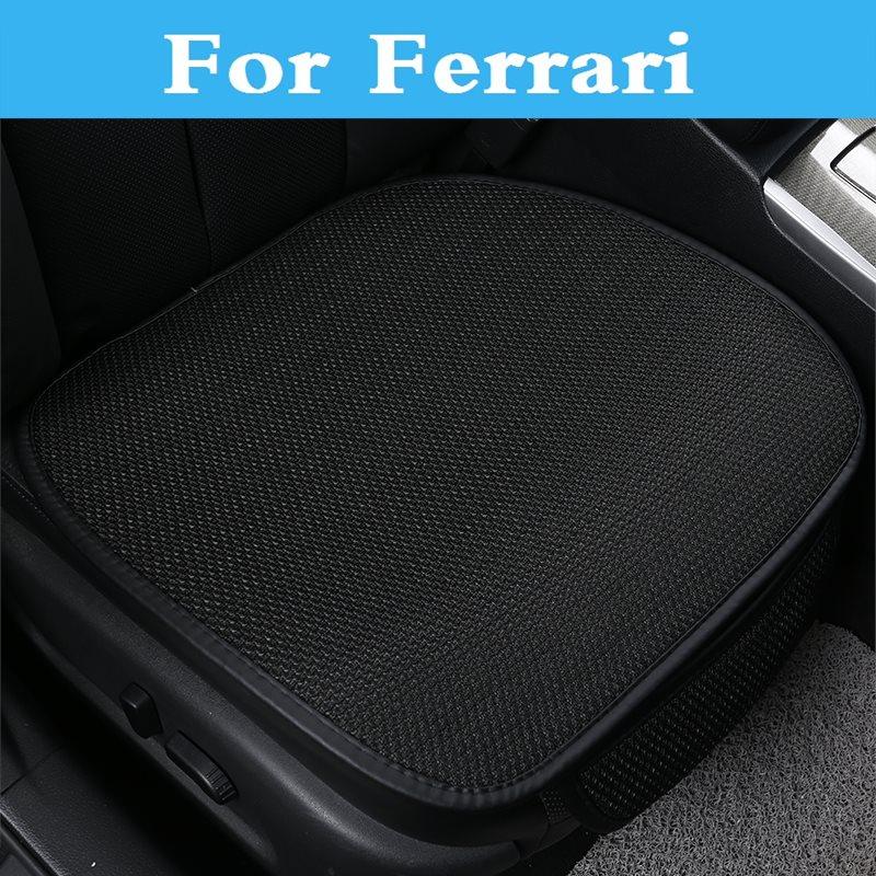 New Spring Summer Cool breathable <font><b>Car</b></font> seat cushion cover For Ferrari 488 GTB 575M 612 California F12berlinetta F430 FF LaFerrari