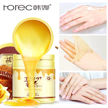 ROREC Skin Care Hand Mask Milk Honey Paraffin Wax Masks Moisturizing Whitening Exfoliating Cream