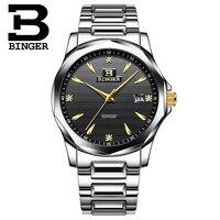 Binger Mens Watches Top Brand Luxury Military Watches For Men Sport Clock Men Fashion Brand Relogio