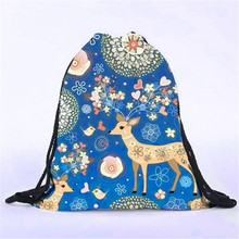 Unisex Backpack Woman 3D Printing Bags