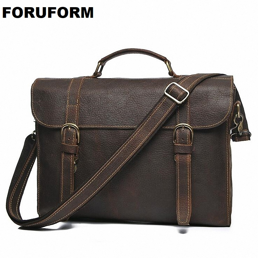Genuine Leather Bag Casual Male Handbags Cowhide Men Crossbody Bag Mens Travel Bags Laptop Briefcase Bag For Man LI-2034Genuine Leather Bag Casual Male Handbags Cowhide Men Crossbody Bag Mens Travel Bags Laptop Briefcase Bag For Man LI-2034