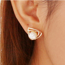 2018 hot sale new fashion jewelry retro triangle earrings personality geometric female elegant bohemian