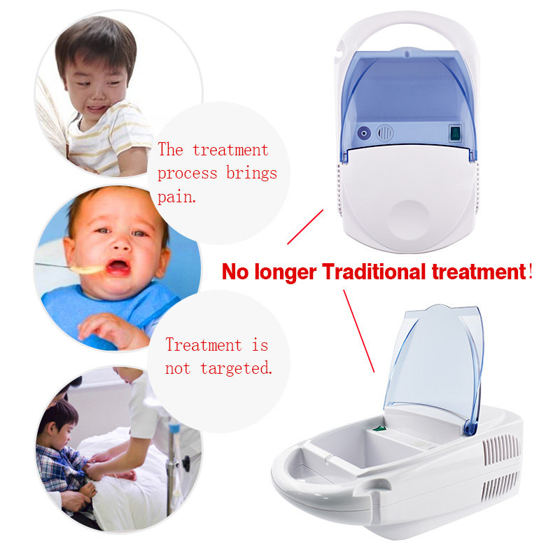 Medical Nebulizer Asthma Inhaler Air Compression Therapy Atomizer Ultrasonic Household Health Care for Children Adult Home Use no–talk therapy for children