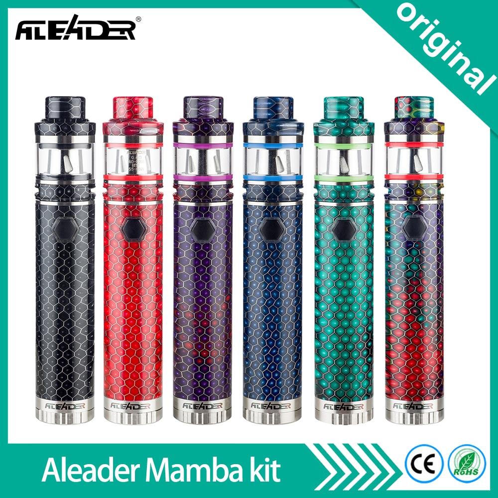 Newest Origial Aleader Mamba Starter kit With Sub Ohm Tank Atomizer Electronic Cigarette Vape Kits Support