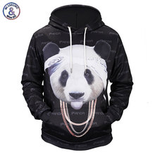 Mr.1991INC New Funny Fashion Hoodies Men/Women 3d Sweatshirts Print Lovely Chain Panda Graphic Hooded Hoodies Hoody