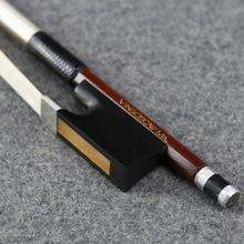 4/4 サイズ 910 v d。peccatee マスターペルナンブコバイオリン弓ニース品質黒檀と馬 100% シルバーフィットバイオリンアクセサリー