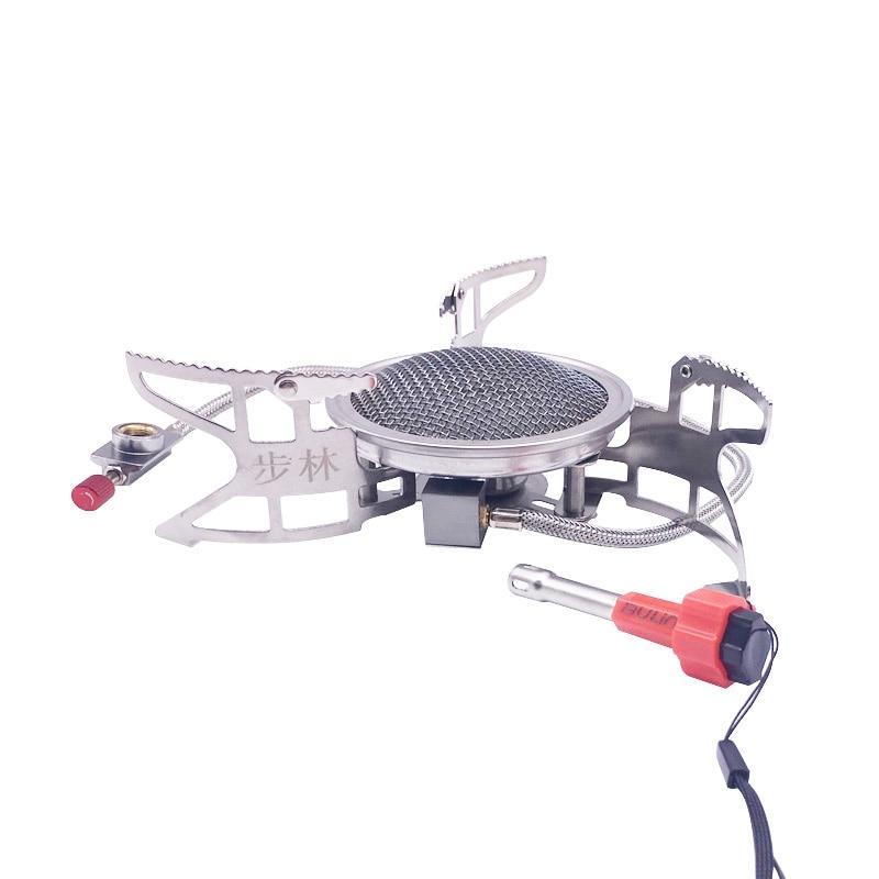 BULIN BL100 - B15 Mini Outdoor Gas Stove Foldable Cooking Camping Split Burner bulin windproof stove gas camping outdoor stove infrared bl100 b12