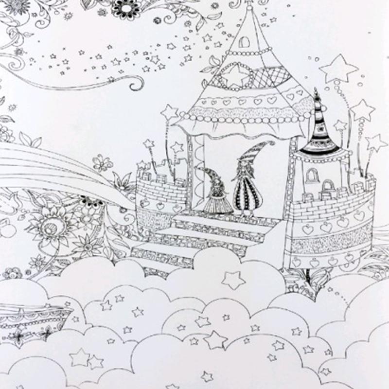 Mandala Fairy Tales And Magical Dreams Coloring Book
