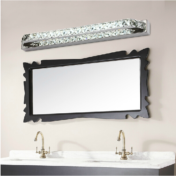 Buy 10w chrysophoron wall sconce stainless steel metal crystal mirror light - Consider buying bathroom mirror ...